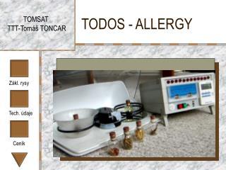 TODOS - ALLERGY