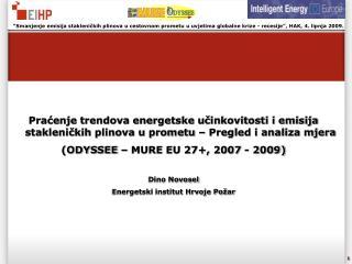 Dino Novosel Energetski institut Hrvoje Požar