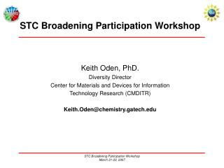 STC Broadening Participation Workshop