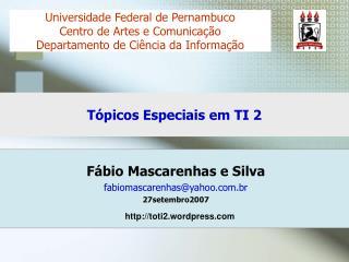 Tópicos Especiais em TI 2