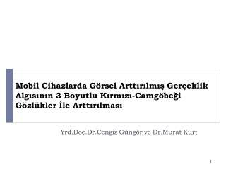 Yrd.Doç.Dr.Cengiz Güngör  ve  Dr.Murat  Kurt