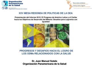 XXV MESA REDONDA DE POLITICAS DE LA OEA
