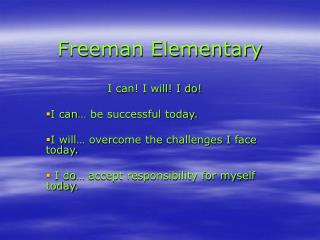Freeman Elementary