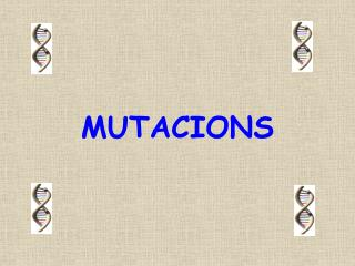 MUTACIONS