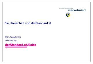 Die Userschaft von derStandard.at