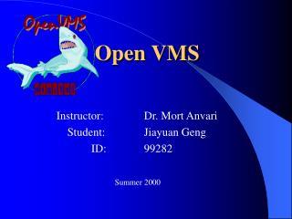 Open VMS