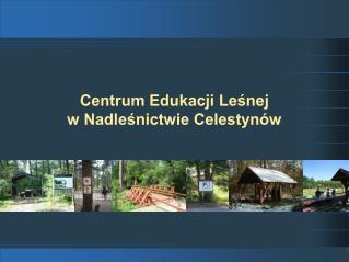 Centrum Edukacji Leśnej                              w Nadleśnictwie Celestynów