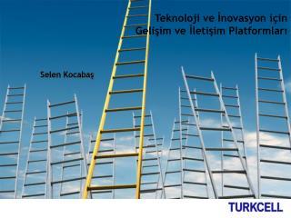 Teknoloji ve İnovasyon için  Gelişim ve İletişim Platformları