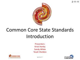 Common Core State Standards Introduction