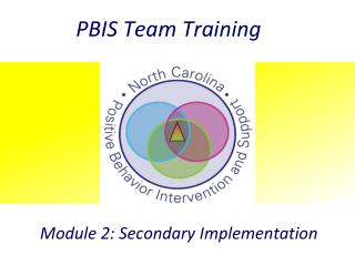 PBIS Team Training