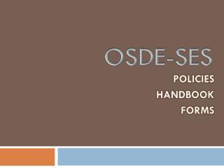 OSDE-SES