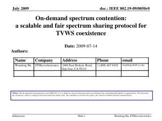 On-demand spectrum contention:  a scalable and fair spectrum sharing protocol for TVWS coexistence