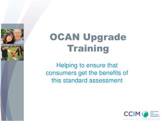 OCAN Upgrade Training