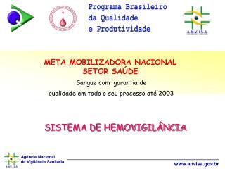 SISTEMA DE HEMOVIGIL NCIA