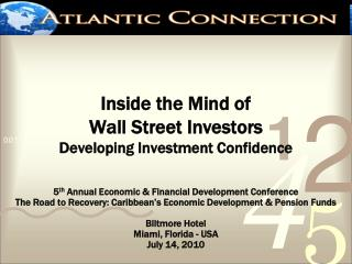 Inside the Mind of  Wall Street Investors Developing Investment Confidence