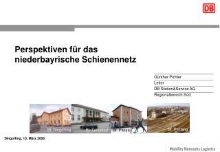 Perspektiven für das niederbayrische Schienennetz