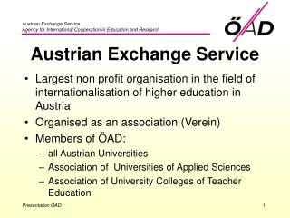 Austrian Exchange Service