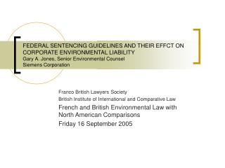Franco British Lawyers Society British Institute of International and Comparative Law