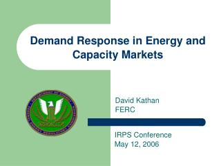 Demand Response in Energy and Capacity Markets
