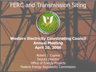 FERC and Transmission Siting