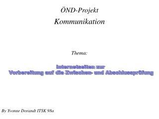 ÖND-Projekt