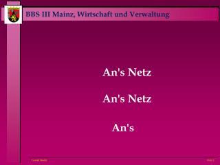 An's Netz An's Netz An's