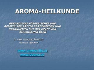 AROMA-HEILKUNDE