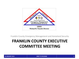 Franklin County Executive Committee MEETING