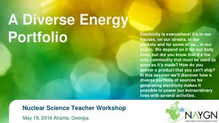 Designing Materials for Alternative Power Sources