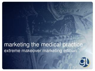 marketing the medical practice