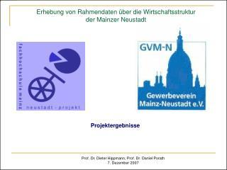 Erhebung von Rahmendaten über die Wirtschaftsstruktur  der Mainzer Neustadt