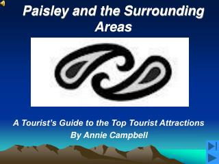 Paisley and the Surrounding Areas