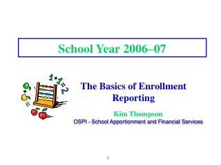 School Year 2006�07