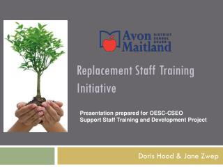 Replacement Staff Training Initiative