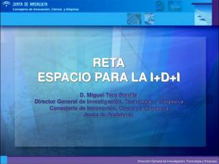 PUNTO DE PARTIDA: EL SISTEMA DE i+D+I