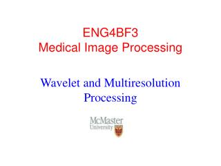 ENG4BF3 Medical Image Processing
