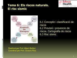 Tema 6: Els riscos naturals. El risc sísmic