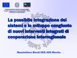 Massimiliano Biondi OER/ARS Marche