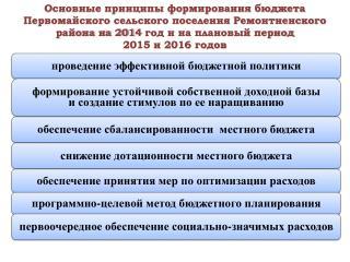 Динамика доходов  бюджета Первомайского сельского поселения  Ремонтненского района ( тыс. рублей )