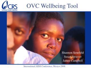 OVC Wellbeing Tool