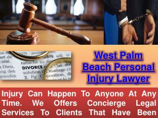 Personal Injury Attorney West Palm Beach