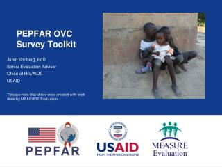 PEPFAR OVC Survey Toolkit
