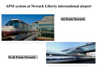 APM system at Newark Liberty international airport