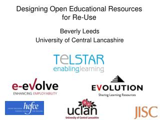 Designing Open Educational Resources for Re-Use