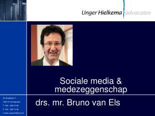 Sociale media & medezeggenschap