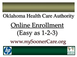 Online Enrollment (Easy as 1-2-3)
