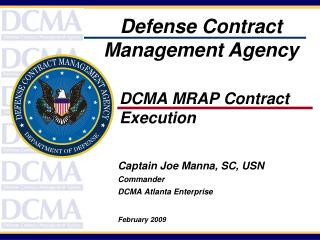 DCMA MRAP Contract   Execution