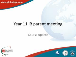 Year 11 IB parent meeting