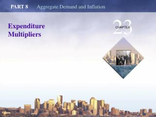 Expenditure Multipliers