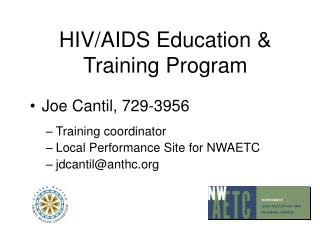 HIV/AIDS Education & Training Program